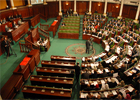 La séance plénière de l'ANC a élu