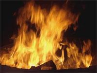 Un immense incendie a ravagé près de 50 hectares de grandes cultures (blé)