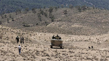 Les opération de poursuite des terroristes et la recherche des soldats