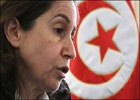 La secrétaire générale du parti Al Joumhouri