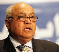 Le député à l'Assemblée Nationale Constituante(ANC)  et secrétaire