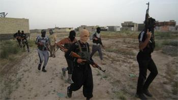L'offensive djihadiste continue en Irak ce lundi. Les combattants de l'Etat Islamique en Irak et au Levant se sont emparés de la ville