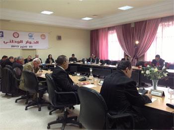La plénière du Dialogue national a démarré