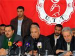 Le secrétaire général de l'Union des travailleurs de Tunisie (UTT)