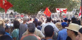 Des marches de protestation ont eu lieu dans les gouvernorats de Siliana