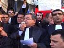 Plus de 30 magistrats écartés ont protesté