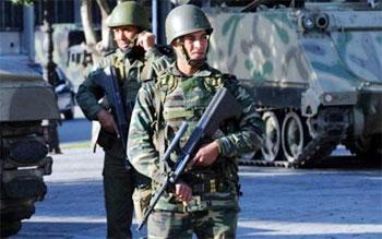 Les forces militaires et de sécurité ont procédé