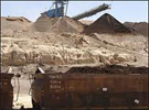 Les huit mines à ciel ouvert (carrières) que compte le bassin minier ont repris un fonctionnement normal