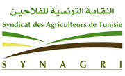 Le SYNAGRI (Syndicat des agriculteurs de Tunisie) a exprimé