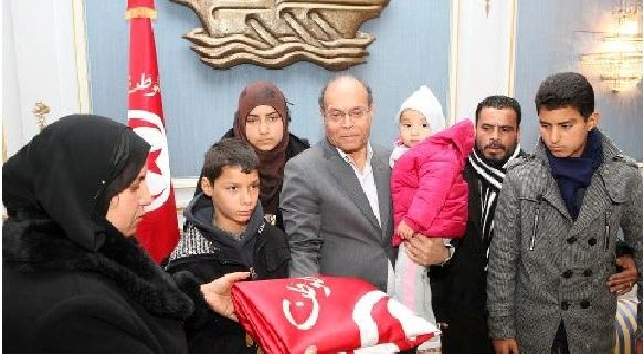 Le chef de l'Etat provisoire tunisien