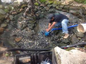 Spring pond cleaning services pond maintenance morris for Pond cleaning services
