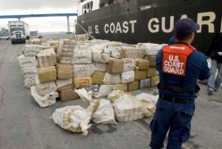 Obviously, Marcus Curry didn't smoke an eight ton blunt, but figured this would be a good chance to post a photo of eight tons of marijuana. Well done, Coast Guard.