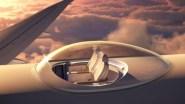 (+فيديو)مقعد فوق سطح الطائرة تحول ملل السفر إلى رفاهية