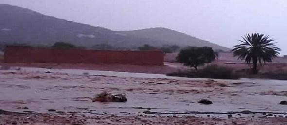 فاجعة: وفيات و أضرار فادحة تخلفها الأمطار الطوفانية بتارودانت، ودواوير تعزل عن العالم الخارجي.