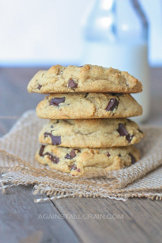 Paleo Double Coco Double Chocolate Chip Cookies (a twist on Toll House cookies)