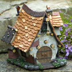 Unusual Fairy Garden Crooked Bavarian Cottage Fairy Garden Houses Fairy House Garden Tour Fairy House Garden