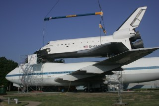 Shuttle Carrier Aircraft NASA905 & Shuttle Independence