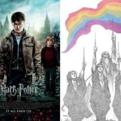 酷新聞:《哈利波特》漫畫版 絢麗彩虹挺同志