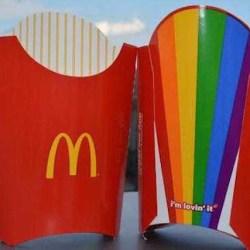 酷新聞:麥當勞推出六色彩虹薯條 恐同者崩潰籲抵制