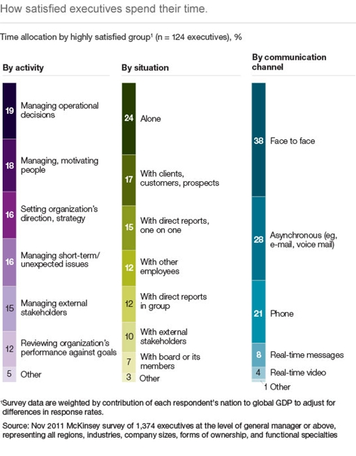 McKinsey Executive Survey Results
