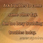 Avoid troubles Remove guilt- Ishopanishad Mantra 3