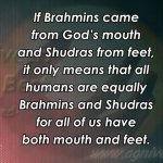 Vedas-condemn-birth-based-caste-discrimination--