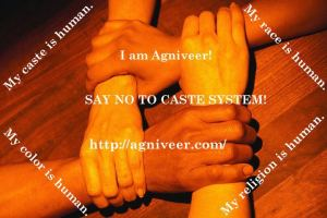 Say No To Caste System