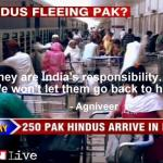 Pakistani Hindus are India's responsibility