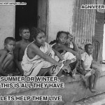 Help poor survive the cold of winter in India