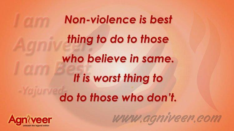 Non Violence Agniveer