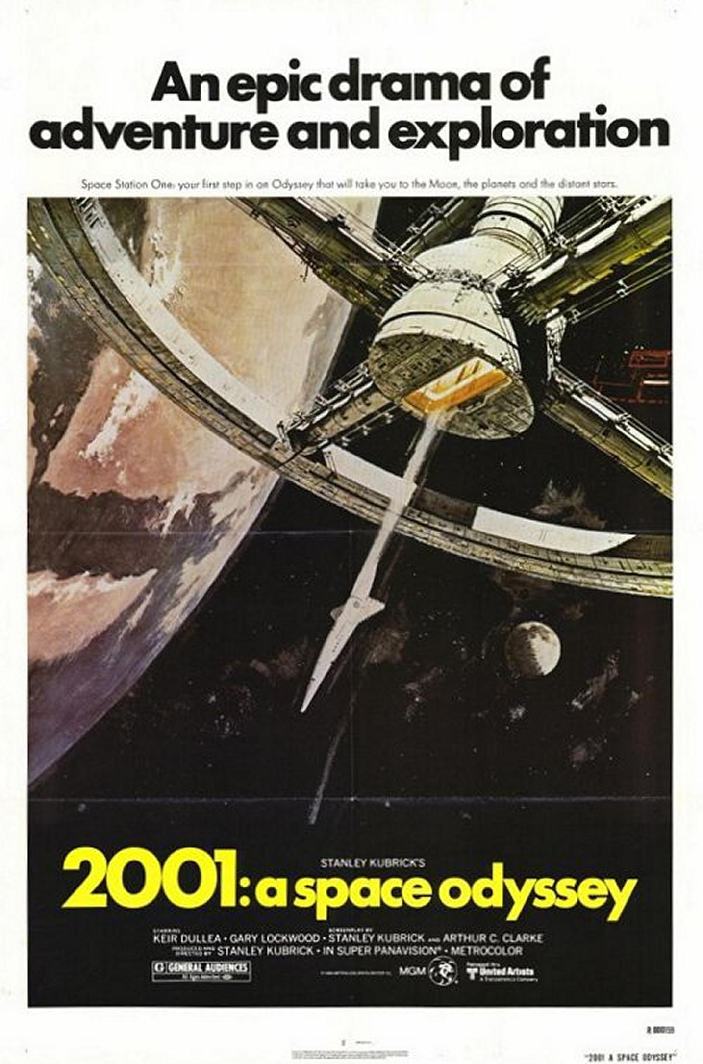 Poster do filme 2001: Uma Odisseia no Espaço