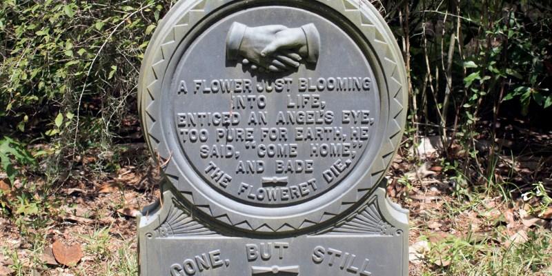 White Bronze Monument, Swift Creek, White Springs, Florida