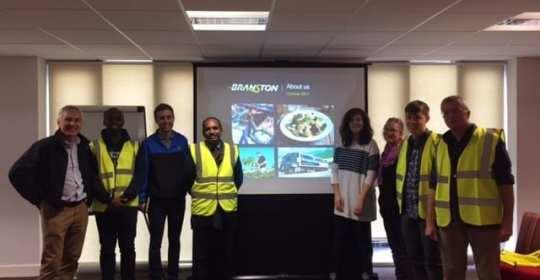 MSc Agri-Food Tech students visit Branston