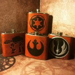 Star Wars Leather Flasks