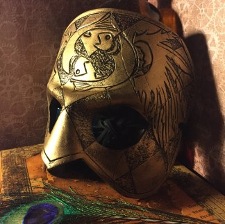 Golden Pisces Mask