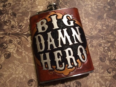 Big Damn Hero Flask