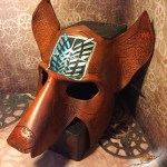 Attack on Titan Wolf Mask