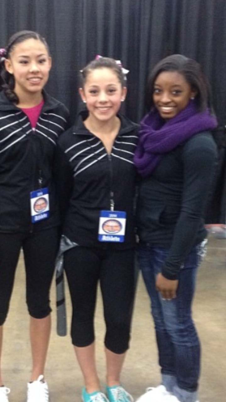 AGS with Simone Biles