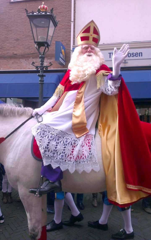Image Of Dutch Father Christmas