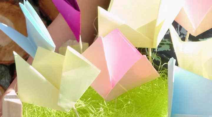 Easy Kids Paper Craft Idea