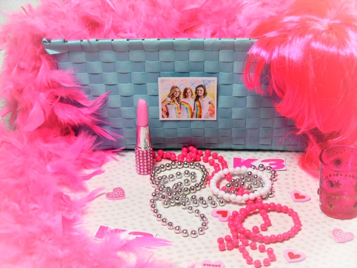 Girls Pink Girly Photo Props