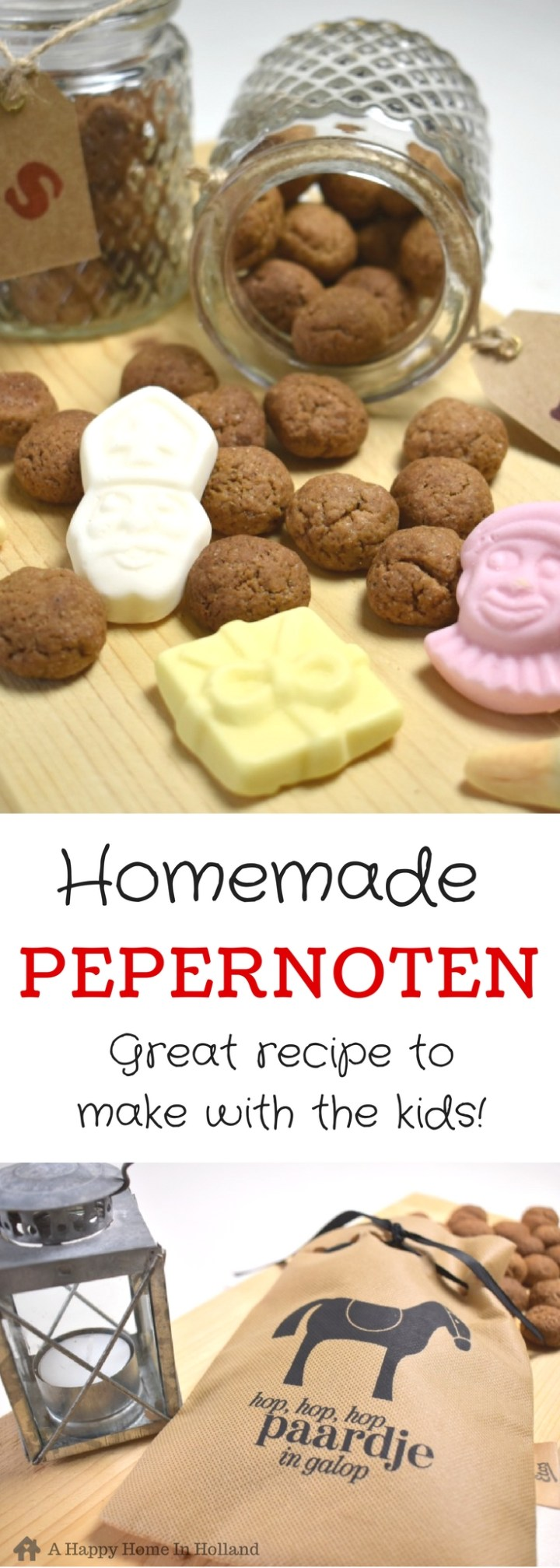 Pepernoten Recipe - Dutch Mini Spiced Cookies - Delicious & Fun Recipe To Cook With The Kids