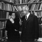 Hertha von Dechend mit Georgio deSantillana