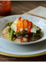 Korean Rice Bowl Recipe | ahealthylifeforme.com