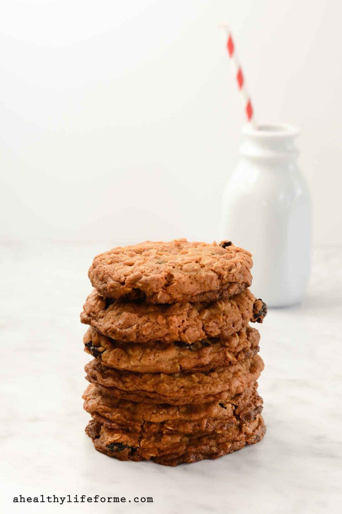 """Oatmeal Dried Cherry [Cookies http://ahealthylifeforme.com/white-chocolate-mm-cookies/"""" title=""""White Chocolate M&M Cookies]"""