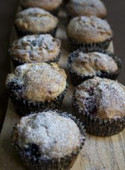 Berry & White Chocolate Muffins @ http::ahealthylifeforme-4