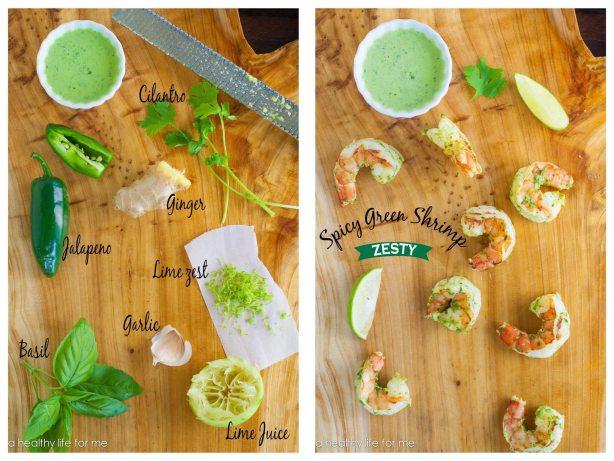Shrimp Grilling Sauce Jalapeño Herbs