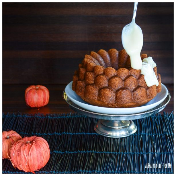 Ice Pumpkin Spice Cake Halloween Thanksgiving Christmas