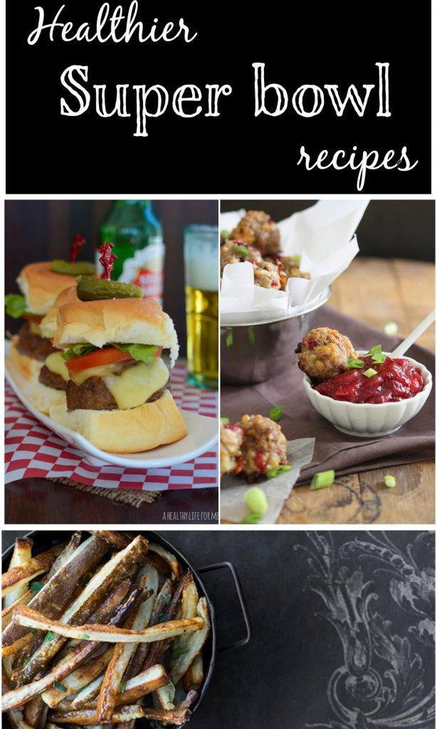 Healthier Super bowl Recipes
