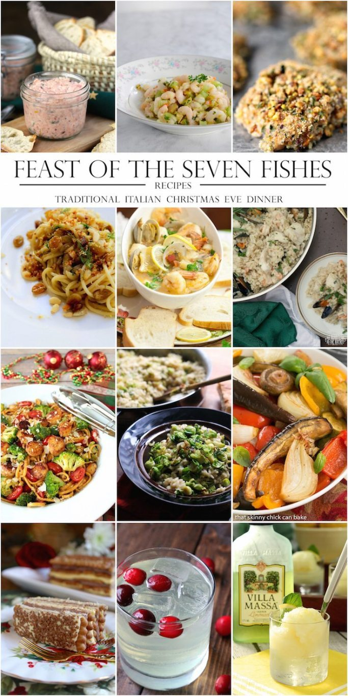 Feast of the seven fishes recipe ideas | ahealthylifeforme.com